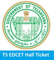 TS EDCET Hall Ticket