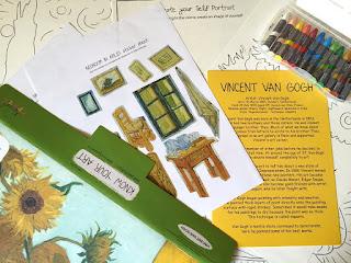 Vincent Van Gogh Art Kit