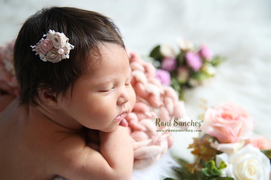 newborn menina