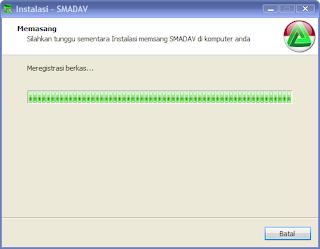 Cara install aplikasi antivirus Smadav