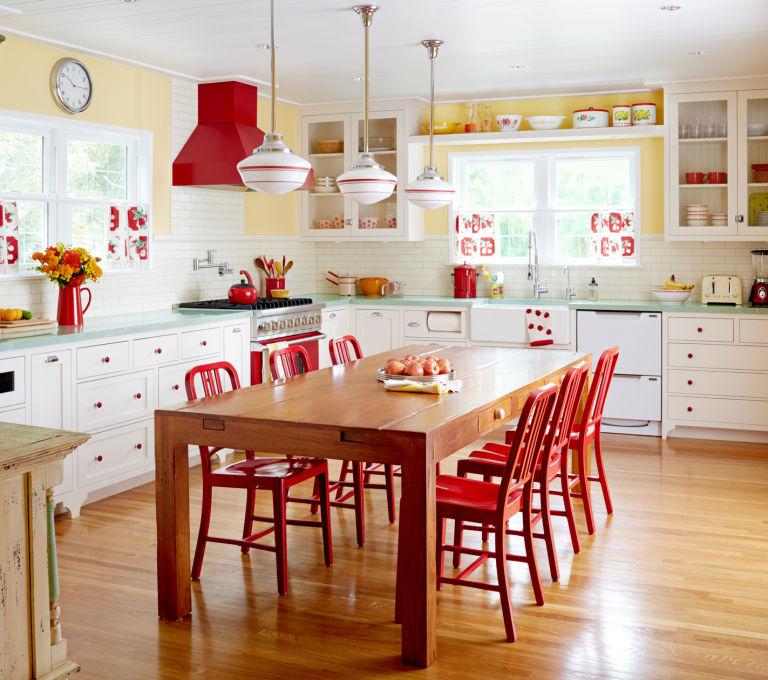 Yellow Kitchen Theme: Modne Aranżacje Wnętrz Mieszkań I Domów: Najlepsze I