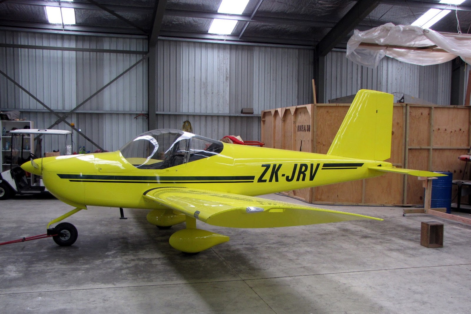 8049bac6d0 ZK-JRV (c n 120316) was registered to JM Coles of Auckland on 11 12 12. It  is scheduled to be test flown next week