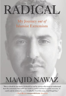 Book cover Radical by Maajid Nawaz, My Journey out of Islamist Extremism