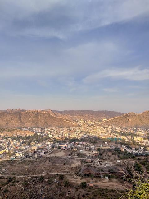 Sunrise point in Jaipur