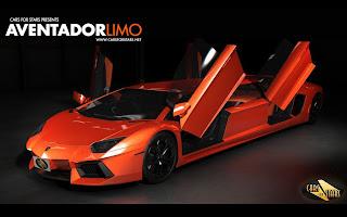Sport Car Lambo Aventador Limo Verses Automotive Share