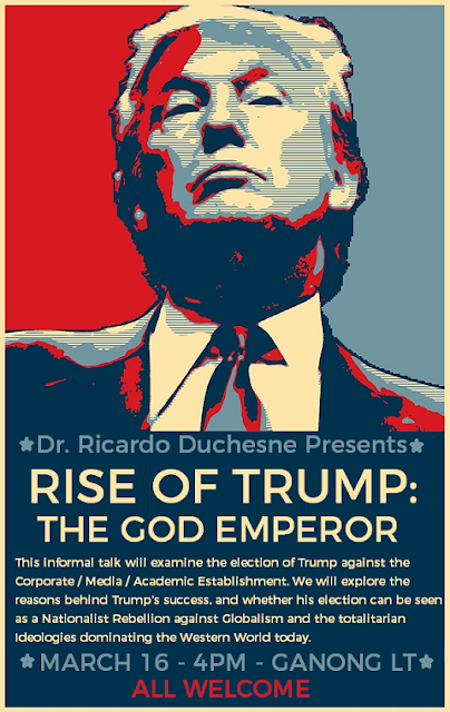 Talk about Donald Trump by Ricardo Duchesne