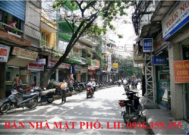 Bán nhà mặt phố Hàng Bạc, Hoàn Kiếm