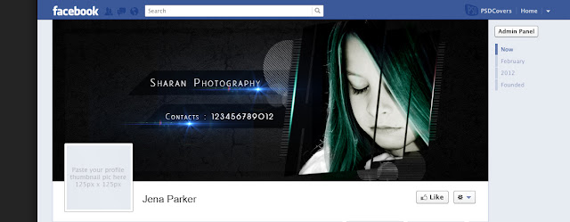 Top Best Facebook Cover PSD Templates