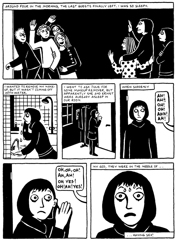 Read Chapter 4 - The Pill, page 32, from Marjane Satrapi's Persepolis 2 - The Story of a Return