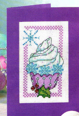 Cross stitch free patterns-Cupcake a puntocroce