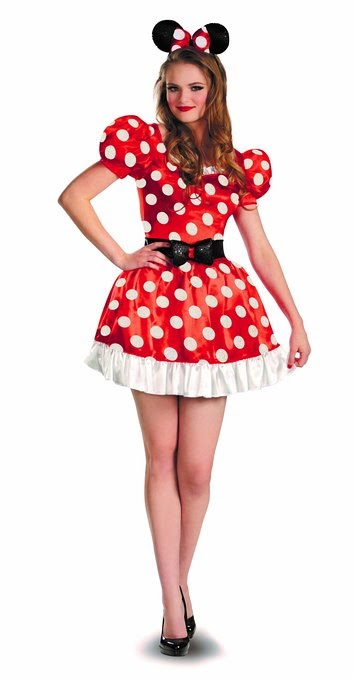 Kostum Minnie Mouse