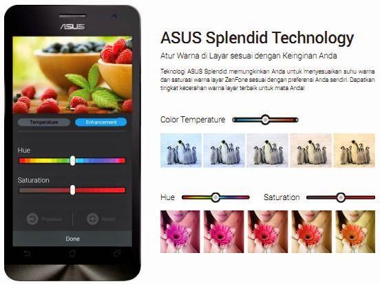 Asus Splendid Teknologi Atur warna layar lebih mudah