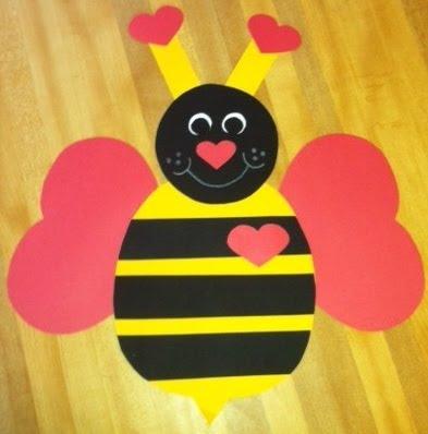 The Teacher S Backpack Bee My Valentine Craftivity