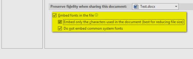 كيفية حل مشكلة تغيير الخطوط في ملفات الوورد عند نقلها لجهاز اخر وظهور الخط الإفتراضي