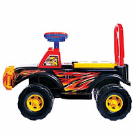 Ride-on Car SHP GMJ592 Grand Music Jeep