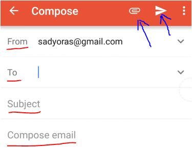 cara mengirim lamaran lewat gmail