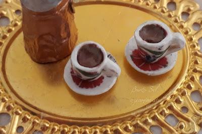 Miniature Turkish Coffee Set