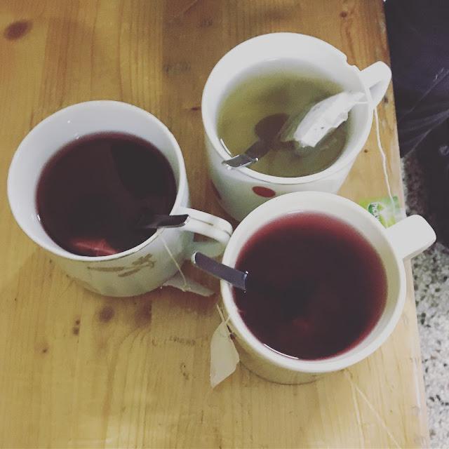 teh untuk gigi