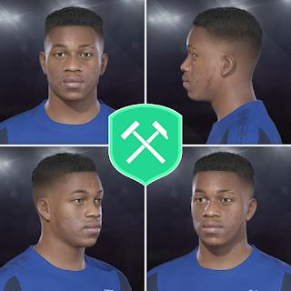 PES 2018 Faces Ademola Lookman by Volun