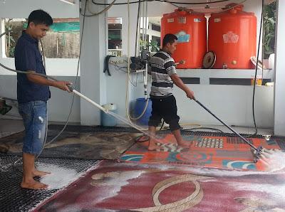 peluang usaha laundry karpet