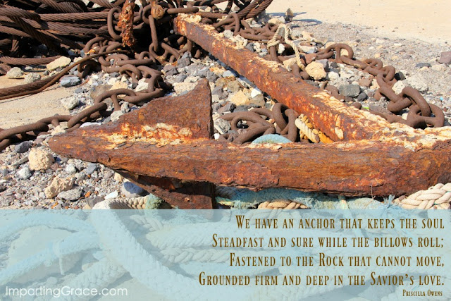 The love of the Savior provides an anchor for our souls. | ImpartingGrace.com