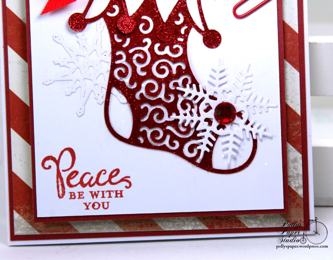 peace be with you christmas greeting card cheery lynn designs