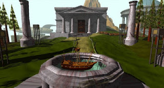 Pantallazo videojuego Myst