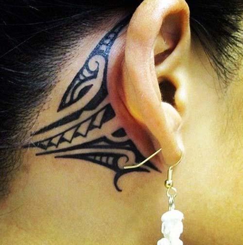 kadın maori tribal dövmeleri woman maori tribal tattoos 8