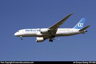 Boeing 787 EC-MLT