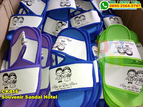Grosir Souvenir Sandal Hotel