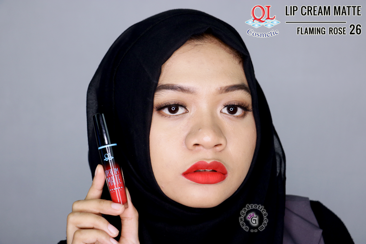 QL Lip Cream Matte 26 Flaming Rose
