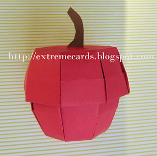apple box pleated lid and base