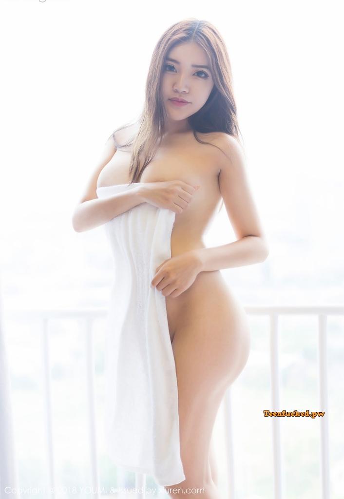 YouMi Vol.232 MrCong.com 040 wm - YouMi Vol.232: Người mẫu 拉菲妹妹 (45 ảnh)