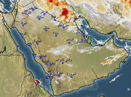 الطقس في المملكة العربية السعودية