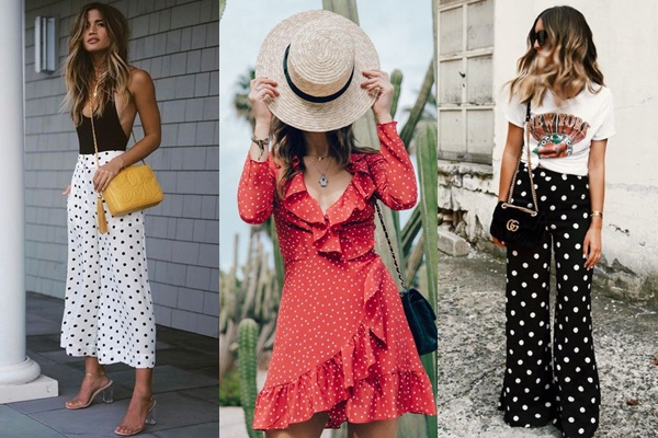 #ONTREND : POLKA DOTS Falling for A