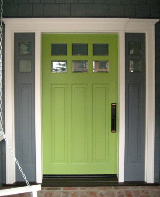 Green Front Doors: Muffin Cake: Pretty Doors