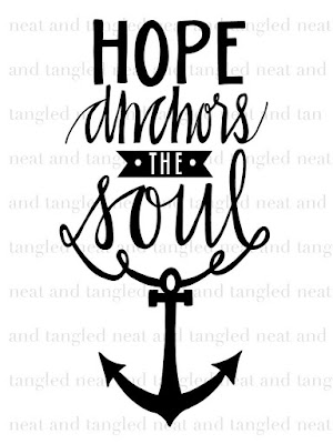 Neat and Tangled Hope Anchors