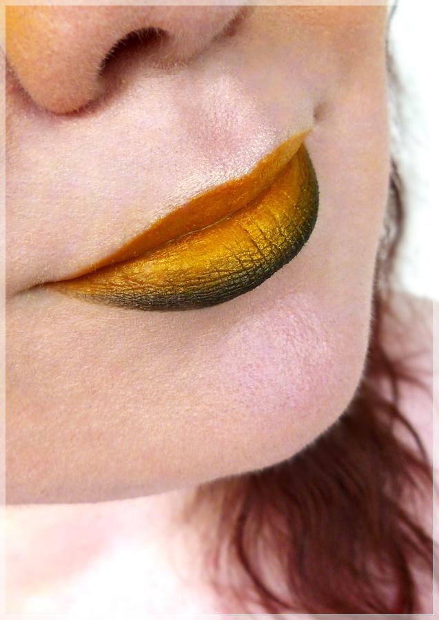 Lipart Ombre schwarz gelb