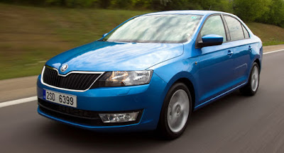 New Skoda Rapid Facelift wallpaper