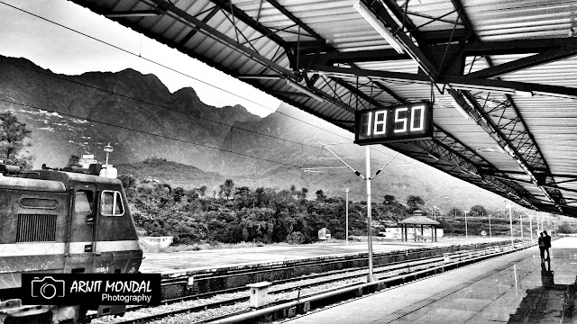 Katra Railway Station mobile photography