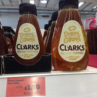 clarks dreamy caramel dessert topping sainsburys