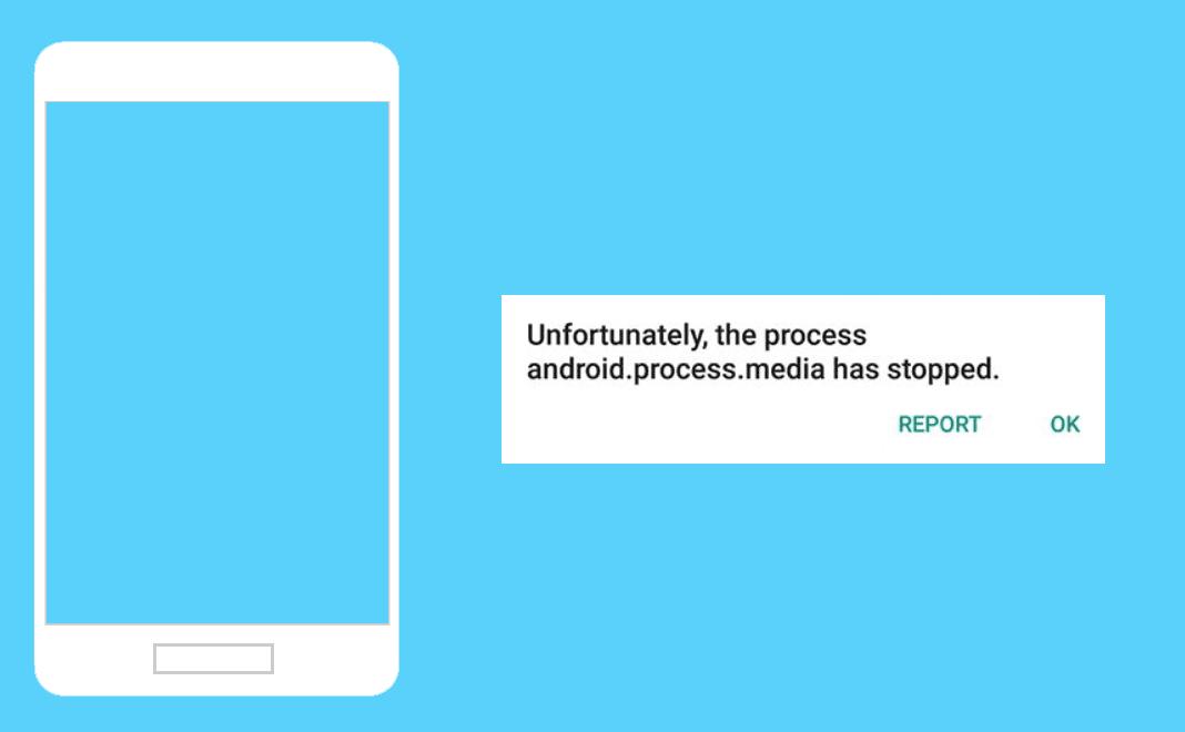Sayangnya Proses Android.Process.Media Telah Terhenti