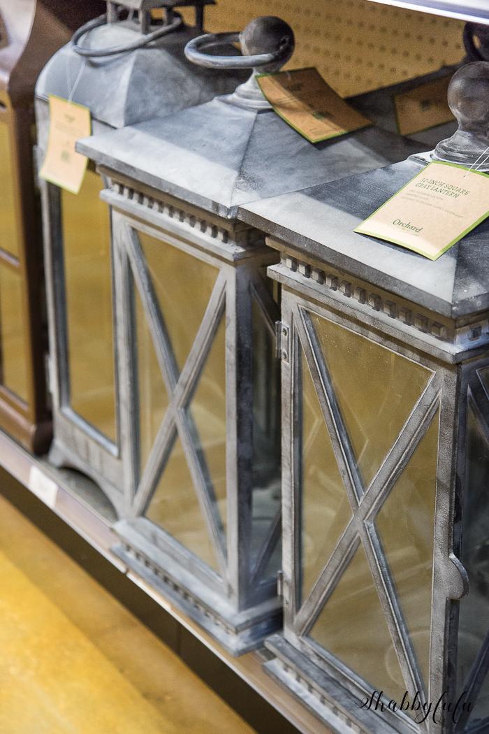 restoration hardware knock off lanterns