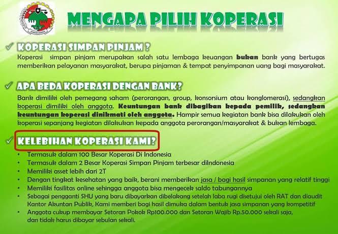 Koperasi Simpan Pinjam Sejahtera Bersama Ksp Sb Malang Koperasi