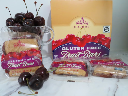 Real Cherries in a Delicious Gluten Free Snack Bar