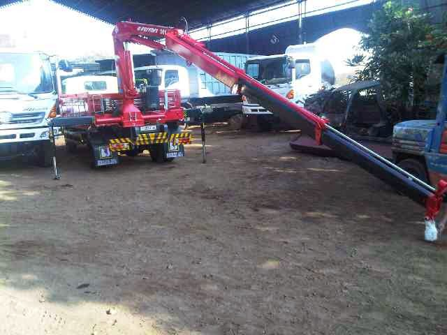 truk hino dutro crane 3 ton