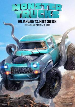 Monster Trucks 2016 BluRay Hindi Dubbed 350MB Dual Audio ORG 480p Watch Online Full Movie Download bolly4u
