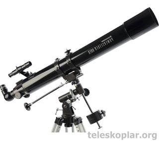 Celestron powerseeker 80eq teleskop incelemesi