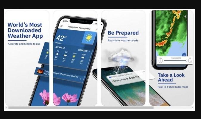 Widget Prakiraan Cuaca iPhone - The Weather Channel