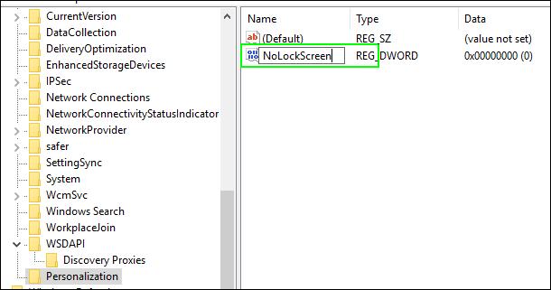 Cara mengubah nama pada registry di Windows 10